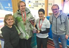 Staatsmeisterschaft Mixed Doubles 2020: Gold
